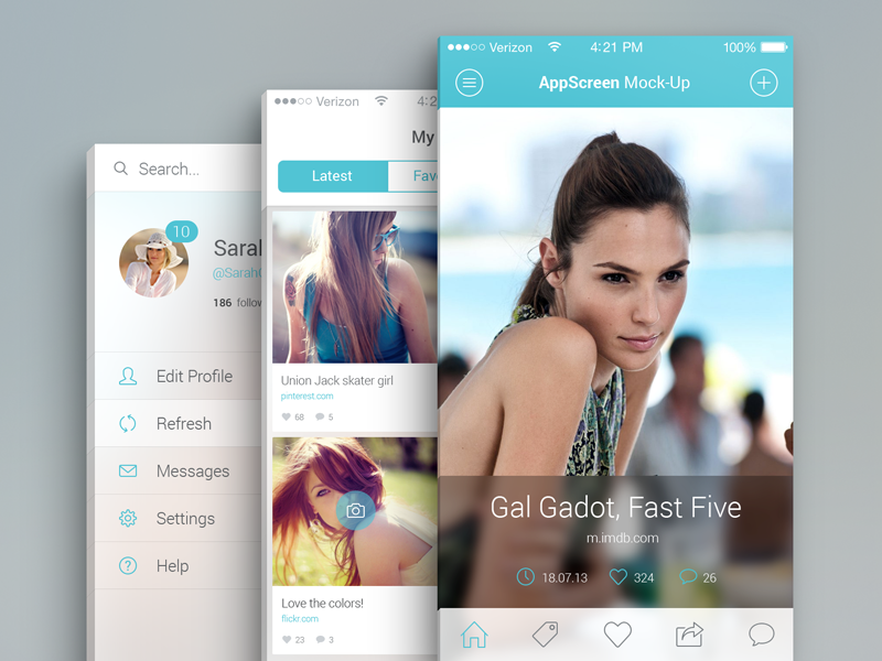 Fashion App Design